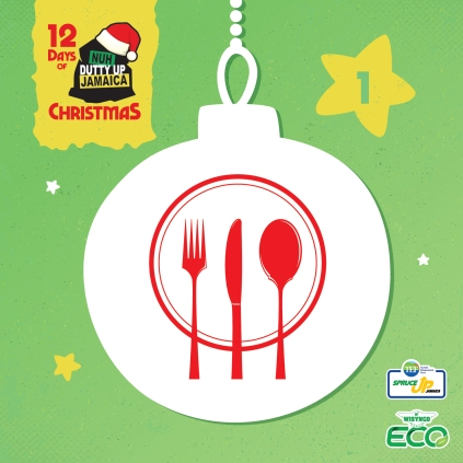 1 Avoid serving food in single-use containers at Christmas parties. Switch to reusable plates, cups, and cutlery.