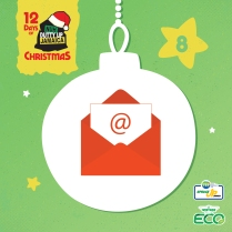 8 Don't use snail mail - Send e-cards for Christmas greetings instead!
